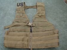 USMC US Army Molle II Fighting Load Carrier Coyote Brown - New in package
