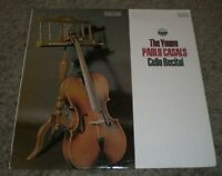 The Young Pablo Casals Cello Recital~1975 Classical~Everest 3323~FAST SHIPPING!