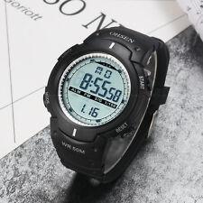 OHSEN Mens Military Alarm Date DIGIT Light Water Proof Sport Quartz Wrist Watch