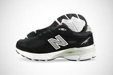 New Balance 990v3 M990BK3 Black Suede Mesh Running Shoes Medium SIZE 16 ~ EUR 50