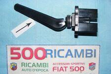FIAT 500 F/L/R PROLUNGA IN GOMMA NERA LEVETTA INTERRUTTORI PLANCIA CRUSCOTTO