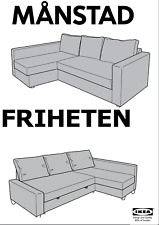 IKEA BED MECHANISM LIFTER / DROPPER, RIGHT AND LEFT MANSTAD FRIHETEN SECT SOFA
