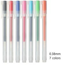 New type MUJI Gel Ink Ball Point Pen 0.38mm 7colors made in japan anime manga
