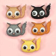 DRESS IT UP Buttons Kute Kittens 10279 Cat Cats Googly Eyes Eyed