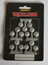 Vintage Warlord Small Round Shields Fantasy Sealed in Package Fw 20/4 Lead 1991