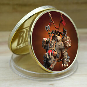 Warcraft Birthday Souvenir Gifts Art Crafts Memorry Coin Gold Plated Metal Coin