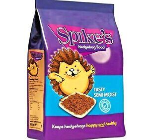 SEMI MOIST HEDGEHOG FOOD - (550g / 1.3kg) - Spikes Tasty Animal Food bp Feed vf