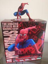 """KOTOBUKIYA The Amazing Spider-Man ARTFX + Statua Figura MK204 - 4""""/9 CM MARVEL"""