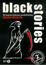 BLACK STORIES: UNIVERSIDAD MALDITA - JUEGO DE CARTAS - RESOLVER MISTERIOS