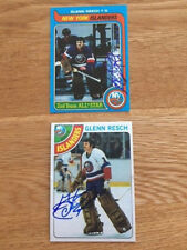 Islanders Glenn Chico Resch signed 1979 80 Topps Card