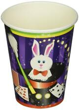 Magic Rabbit Magician Hat Trick Cute Kids Birthday Party 9 oz. Paper Cups