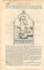 Tippou-saïb tipû sahib sultan of mysore tiger of mysore India uk engraving 1834