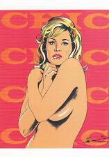 Postkarte: Mel Ramos - Chic / Ursula Andress / 1965