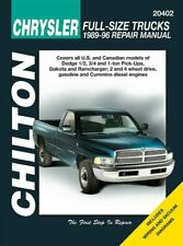 Repair Manual-Base Chilton 20402