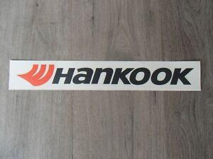 Hankook Aufkleber  neu ! Sticker Decal Kleber DTM Original