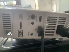 Optoma Technology HD26 Full HD DLP Home Theater Projector 1780 lamp hours only