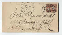 1850s 3ct #11 Philadelphia to Milford DE forwarded [F821.32[