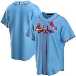 St. Louis Cardinals Team Jersey - Light Blue XS-4XL