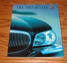Original 1997 Buick Full Line Deluxe Sales Brochure 97 Riviera LeSabre Skylark
