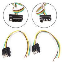 Rallonge de faisceau de câbles d'éclairage pour 2 remorques Prise à 4 brocheLTMA