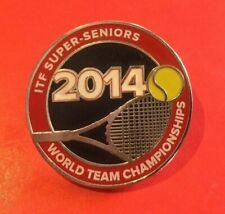 2014 Itf Super Seniors World Team Championships Tennis badge