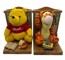Bookends Buddies Disney Books Winnie the Pooh & Tigger Plush Storybook