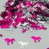 Unicorn Birthday CONFETTI SPRINKLES pink Princess TABLE DECORATIONS Girls Party