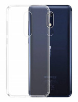 """Case Cover Gel Silicone Transparent Clear For Nokia 5.1 Plus + (4G) 5.86"""""""