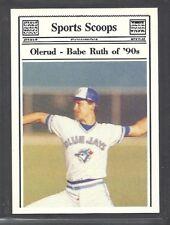 1990 Sports Scoops, Inc. All-Sport - John Olerud - Toronto Blue Jays