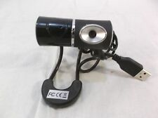 Connect land USB webcam Free Standing Black and Silver used / preowned 110231