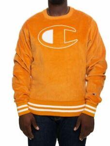 Champion Men's Corduroy Crew Sweatshirt - X-Large
