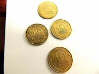 "1962 - 1968 French Ten (10) Centimes Coin ""One Coin Per Order"""