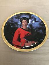 STAR TREK Thomas Blackshear UHURA 25TH Anniversary Plate Original Series 1991