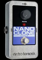 Electro-Harmonix Nano Clone Chorus Guitar Effect Pedal ORIG Box made in USA