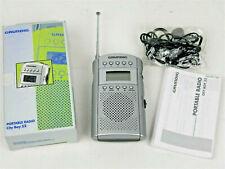 Mini Radio portatile GRUNDIG City Boy 52 Stereo Headphone Cuffie FM Vintage New