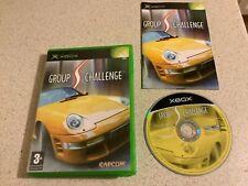 GROUP S Challenge Original OLD Xbox Spiel fastpost Jungen Cars Racing Retro neuwertig