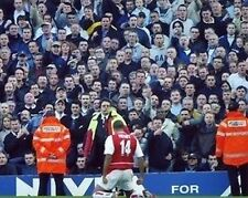 Thierry Henry Arsenal in Front of Spurs Fans 10x8 Photo