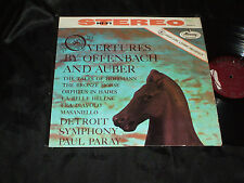 Overtures by Offenbach and Auber  MERCURY STEREO SR-90215 LP