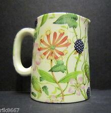 Heron Cross Pottery Hedgerow Chintz English 1/4 Pint Cream Jug