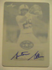2013 Leaf US ARMY All American Base Auto Antonio Allen Indiana Hoosiers Auto 1/1