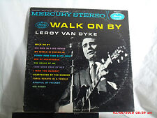 LEROY VAN DYKE -(LP)- WALK ON BY - MERCURY STEREO RECORDS - SR 60682  -  1961