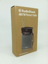 Radio Shack AM/FM Pocket Radio - New In Box