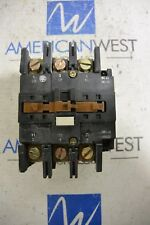 LC1-D803 Telemecanique 90 amp 600 volt 60 HP Contactor 120v Coil Tested