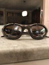 Oakley Sunglasses D Plate Bronze Titanium w/Bag 03-852 Splice Valve Rare HTF VGC