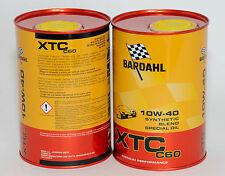 BARDAHL Olio auto XTC C60 10W40 1lt formula PolarPlus Fullerene