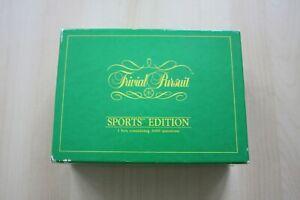 Vintage Trivial Pursuit Sports Edition - 500 cards / 3000 questions 1987 VGC