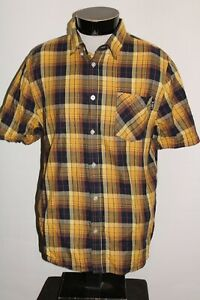 LRG Lifted Research Group Mens Large L Plaid Button-up shirt Combine ship Discou
