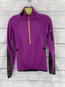 PEARL IZUMI  Women Long Sleeve Cycling Jersey 1/2 Zip X Small Magenta