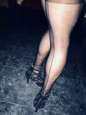 Calze autoreggenti velate - Nere  donna sexy  calze sexy shop art. 8789