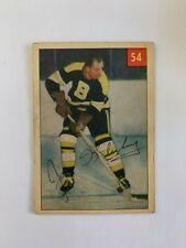 1954-55 Parkhurst #54 Joe Klukay - Boston Bruins SET BREAK Good shape